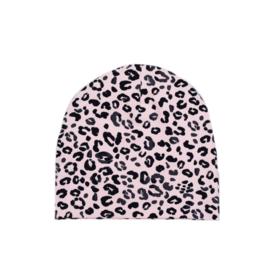 SS | Beanie | Leopard Baby  Rose | M