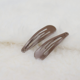 Hair Clip | Chocolate Brown | 2 Pieces