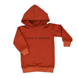 Baggy Hoodie Dress | Make a Change | 6 Kleuren