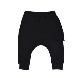 Harem Pants With Sidepocket | Black | Handmade