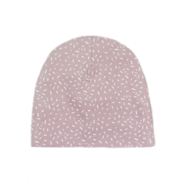 Beanie | Sprinkles Old Rose | Handmade