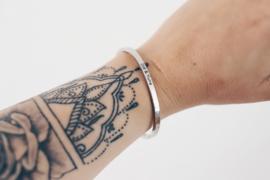 Armband | Gepersonaliseerd | Silver