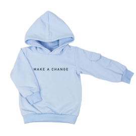 Hoodie with cargopocket | Make A Change | 7 Colours