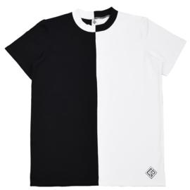 Divide T-Shirt Kids | Unisex | Black/White