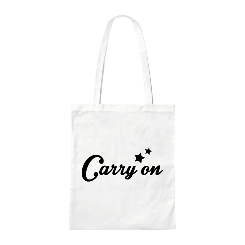 Canvas bag - Carry on - White