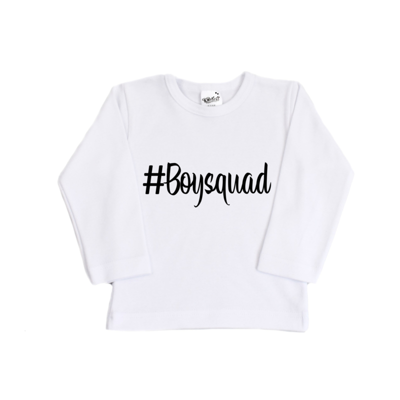 Shirt   #Boysquad