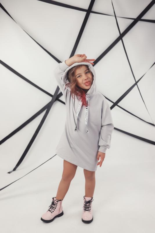 AVIILO Baggy Hoodie Dress | 3 Kleuren | Handmade