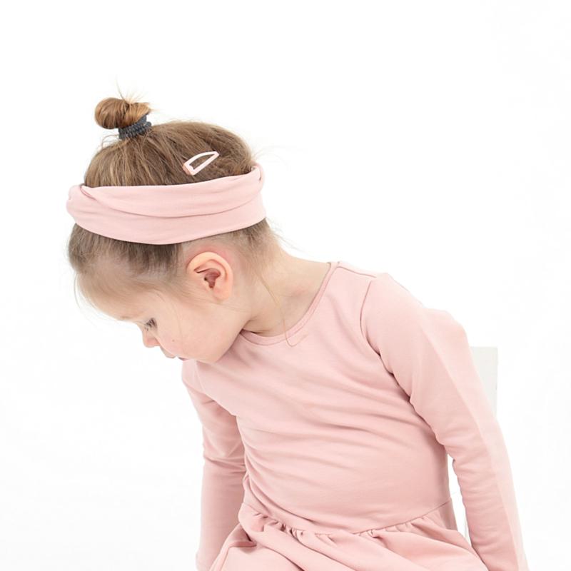 Haarband Twist   Blush   Handmade