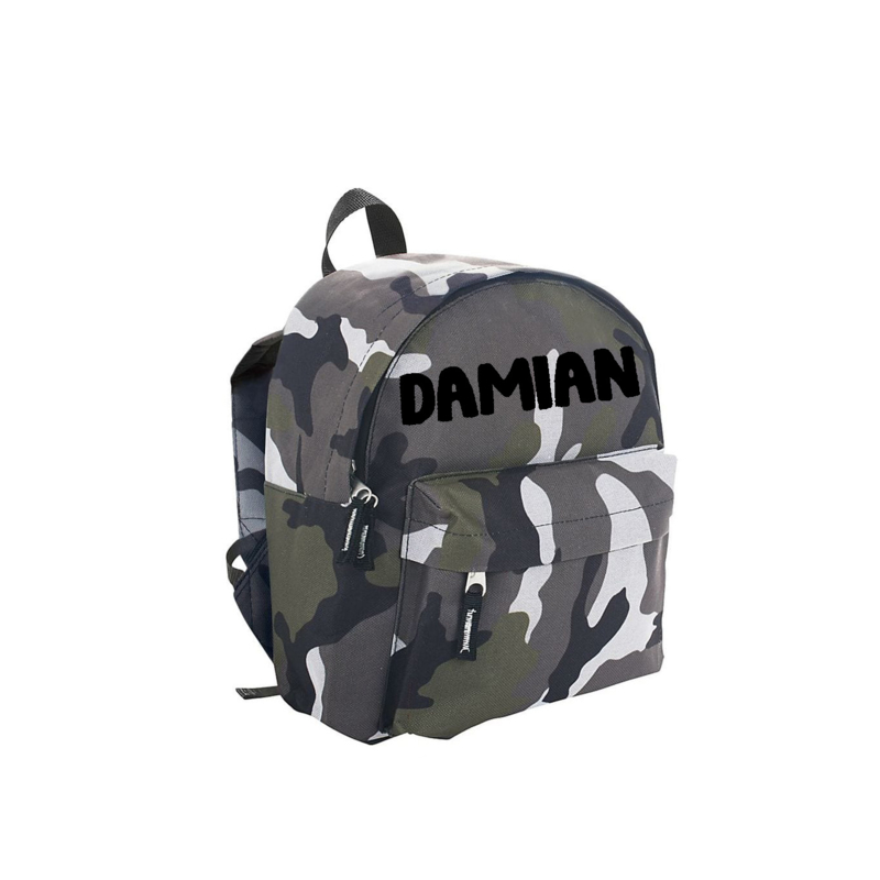 Backpack CAMO | Damian | Personalized