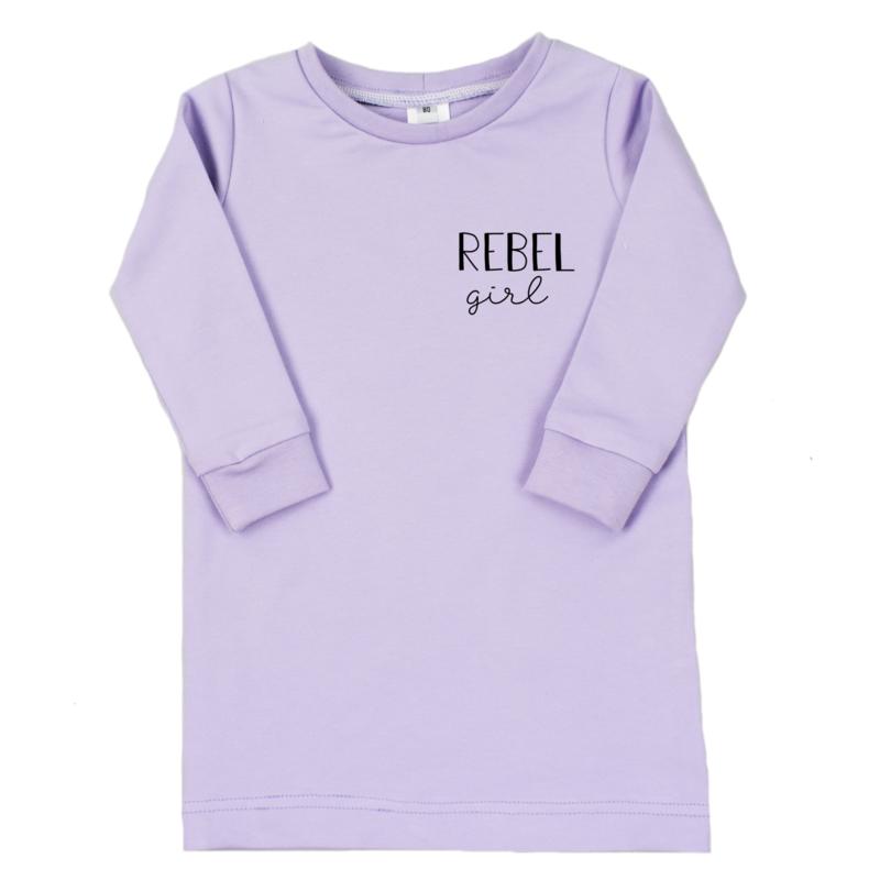 T-Shirt Dress | Rebel Girl | 7 Kleuren