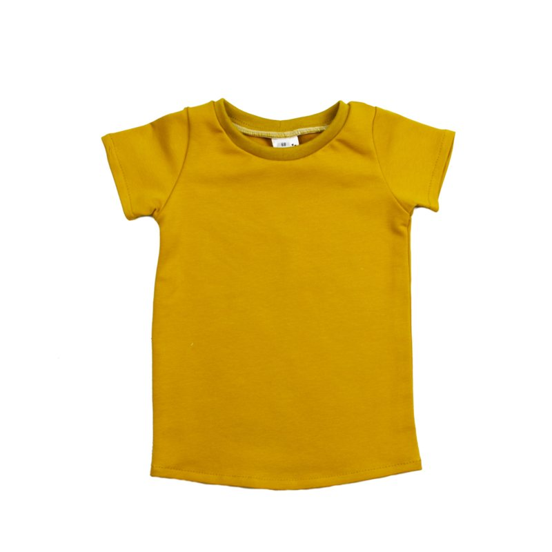 T-Shirt Dress | Mellow Yellow | Handmade