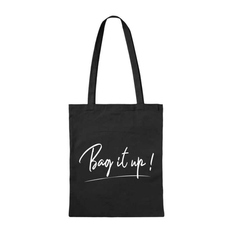 Canvas tas - Bag it up! - Zwart