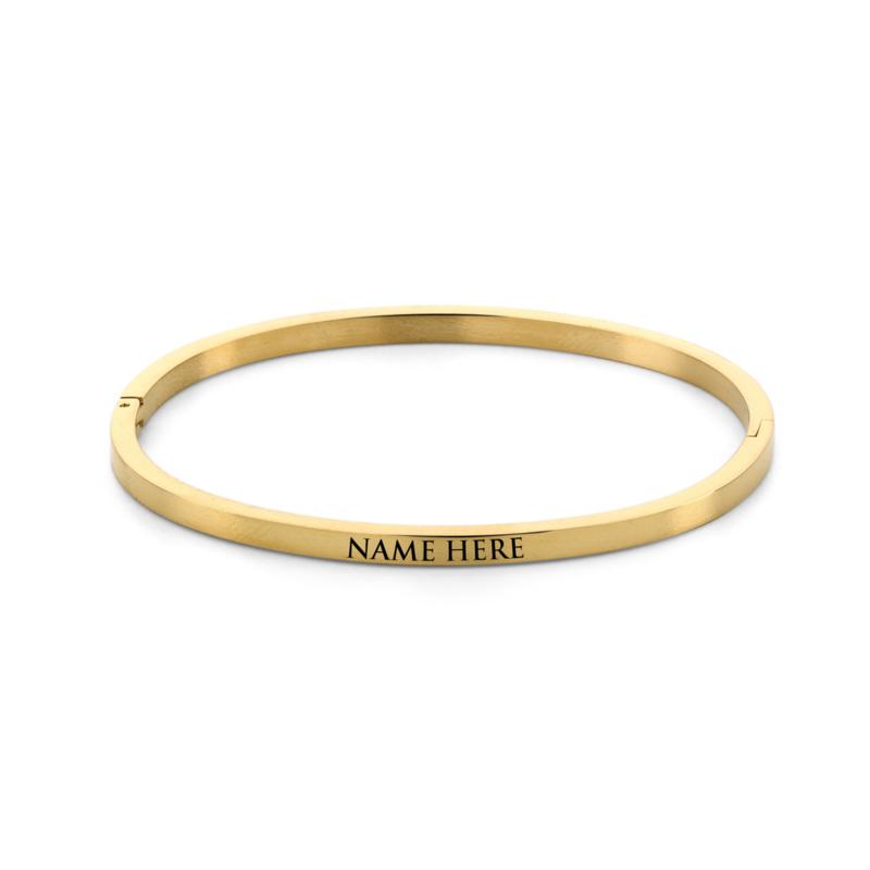 Armband   Gepersonaliseerd   Gold