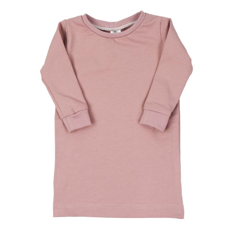 T-Shirt Dress | Shadow Mauve | Handmade
