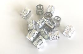 Bead cuff's zilver