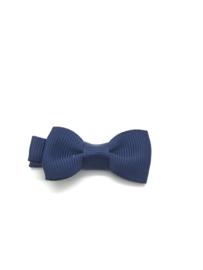 Marine blauw klein strikje