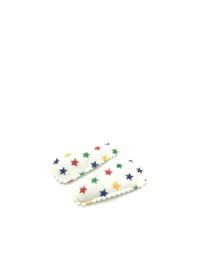 Baby/ peuter haarspeldjes sterren multicolor