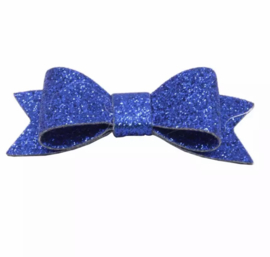 Glinster strikje Royal blauw