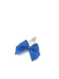 Newborn speldje strikje kobalt blauw