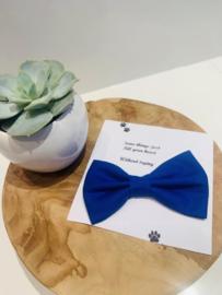 Doggy/cat bow tie kobalt blauw