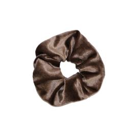 Scrunchies bruin velvet