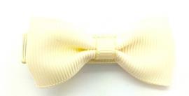 Crème kleur klein strikje