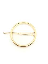 Haarspeld geometrisch rond goud