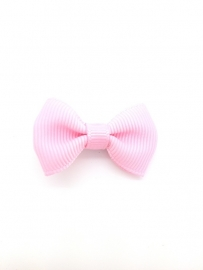 baby/ peuter strikje licht roze