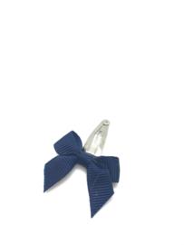 Newborn speldje strikje marine blauw