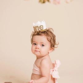 Haarbandje kroontje 1 jaar