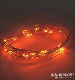 Ibiza hairlights oranje