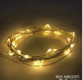 Ibiza hair lights warm white