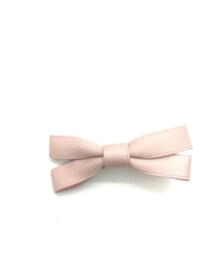 Strikje fijn lint oud roze