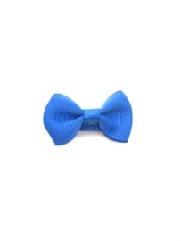 Baby/peuter strikje kobalt blauw