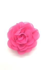 Haarspeldje met chiffon roos