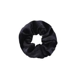 Scrunchies zwart velvet