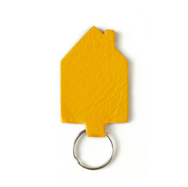 Keecie Good House Keeper sleutelhanger - Yellow