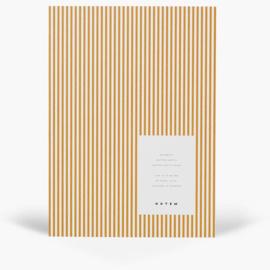 NOTEM VITA notebook - medium, ochre