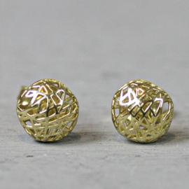 Jeh Jewels 14 karaat goud oorstekers bol