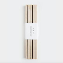 Inkylines cardholder wood, extra large