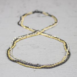 Jeh Jewels collier drie kleuren