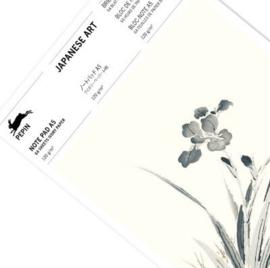 Pepin Press - note pad A5: Japanese Art