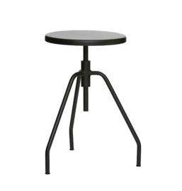 House Doctor stool Scarpa, black
