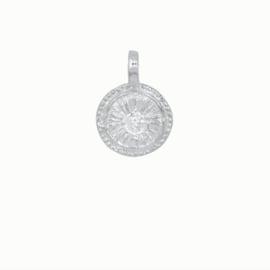 Flawed pendant Sunshine, silver