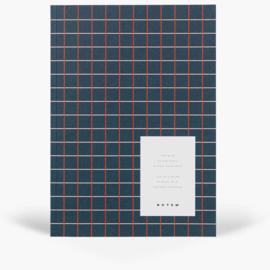 NOTEM VITA notebook - medium, dark blue