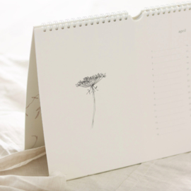 Inkylines verjaardagskalender botanisch