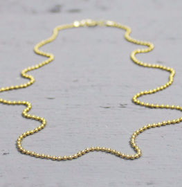 Jeh Jewels collier goldfilled bolletjes