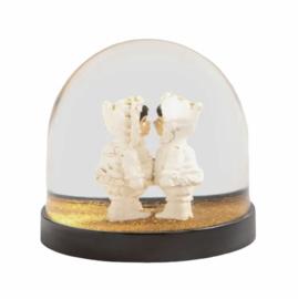 &Klevering Wonderball - eskimo's, gouden sneeuw
