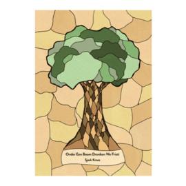 """""""Onder een boom dronken we fristi"""" - Sjaak Kroes"""