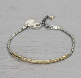 Jeh Jewels bracelet silver and goldfilled